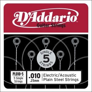 d-addario-pl-010-5-pack-losse-snaren