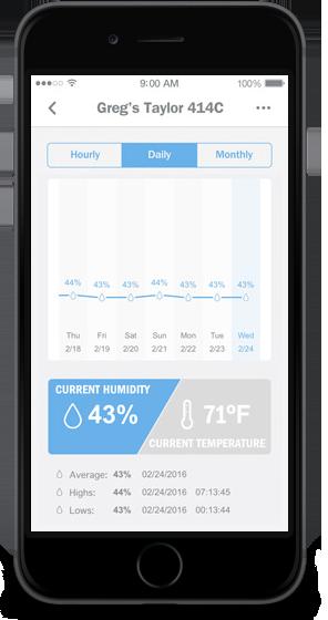 humiditrak app