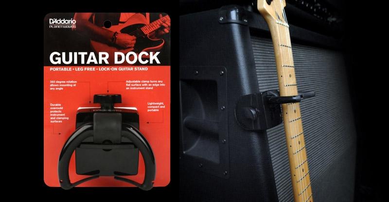 Zet je gitaar overal stevig weg met de Guitar Dock