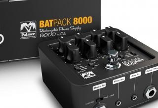 De nieuwe Palmer Bass Pocket Amp en Batpack 4000
