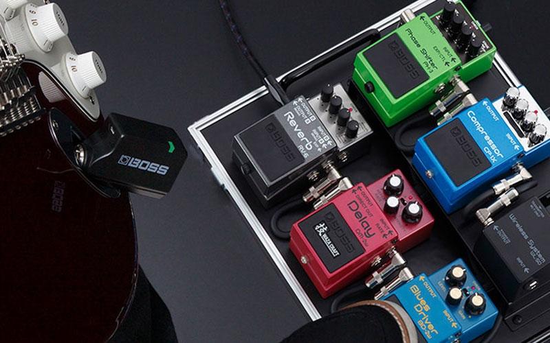 Nieuwe Boss WL20 en WL50 draadloze gitaarsystemen