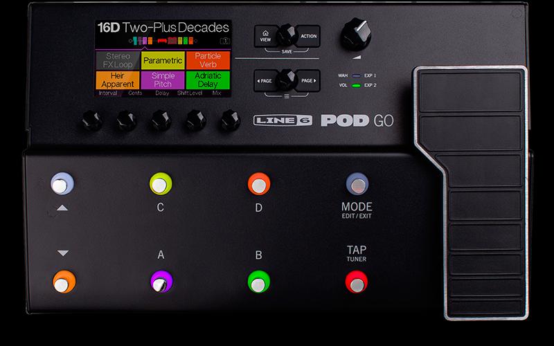 Line 6 POD Go: effectprocessor inzetbaar voor alles
