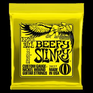 Ernie Ball 2627 Beefy Slinky Snaren voor Elektrische Gitaar (11-54)