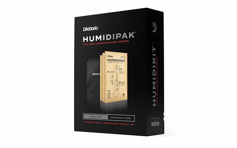 D'Addario Humidipak: makkelijk luchtvochtigheid van je gitaar regelen