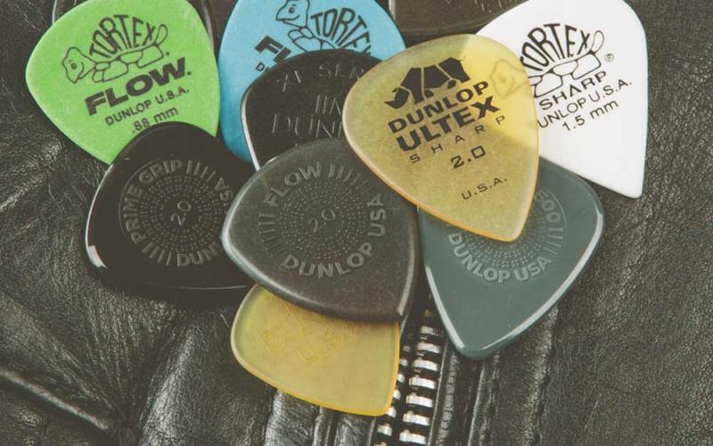 Dunlop plectrum variety packs: voor iedereen een passend plectrum!